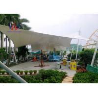 Wholesale Steelwork Stretching Tensioned Membrane Structures For Playground Sunshade Shed from china suppliers