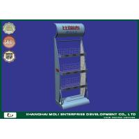 Buy cheap Floor Wire Retail Display Racks Store Shelving Units Promotion In Supermarket from wholesalers