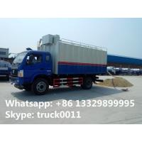 Wholesale factory direct sale 18m3 self-discharging bulk grains farm truck, best price food grains transfering truck for sale from china suppliers