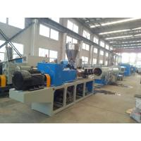 Wholesale High Capacity PVC Pipe Extrusion Machine With Electrical Controling System from china suppliers