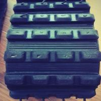 Quality (100Width mm) Rubber Track 100*40*50 for Robot/Wheelchair/Vehicle for sale