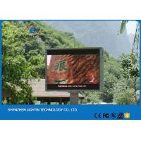 Wholesale Full Color LED Display Screens 1/4 Scan 160*160mm Module P10 DIP LED Video Wall from china suppliers