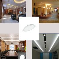Wholesale Ultra Thin Led Panel Downlight 3w 6w 9w 12w 15w 18w Round/Square LED Ceiling Recessed Light AC85-265V LED Panel Light from china suppliers
