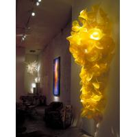 Wholesale Decorative Murano Glass Wall Flower Sculpture from china suppliers