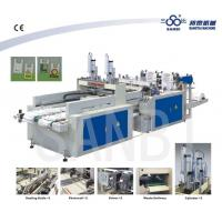 Wholesale Two Lines Heat Sealing Heat Cutting T-Shirt Bag Making Machine With Punching from china suppliers
