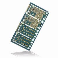 Buy cheap 10 Layers HDI PCBs with Blue Colors for Smart Phone from wholesalers