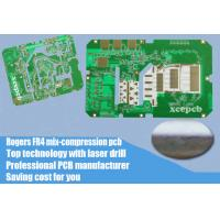 Quality Rogers 4350B 6 Layer Mix Stack Up Immersion Gold PCB Circuit Boards for sale