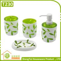 Wholesale Cheap 3D Tree Leaves Pattern Family Hotel Cute Bathroom Sets For Gift from china suppliers