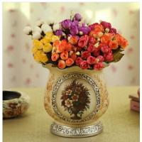 Wholesale pottery vase with flower painting from china suppliers