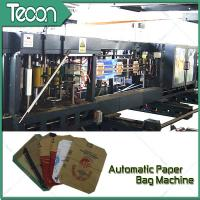 Quality Flat Bottom Pasting Paper Bag Forming Machine Which Can Pack 50Kg Cement for sale