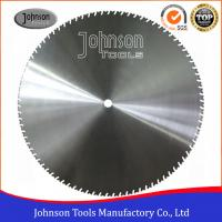 Quality Laser Welding 1400mm Diamond Wall Cutting Blade with 4.8mm / 5mm Thickness for sale