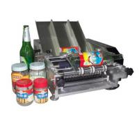 Wholesale Plastic Bottle Labeling Machine , Semi Auto Pneumatic Sticker Applicator Machine from china suppliers