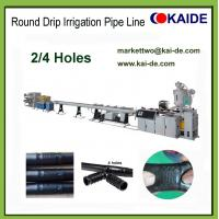Wholesale Drip Irrigation Pipe Prodution Machine with 2 holes 4 holes 6 holes China factory price from china suppliers