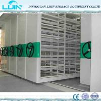 Wholesale Mechanical Metal Movable Compact Mobile Filing Cabinet Anti Corrosion from china suppliers