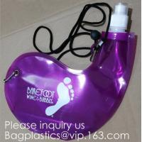 Wholesale Collapsible Water Bottle Reusable Drinking Water Bottle with Clip for Biking, Hiking Travel, Gym, Sports, teams, Hiking from china suppliers