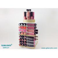 Wholesale Black / White / Pink Color Acrylic Lipstick Display Facory Direct Sell from china suppliers