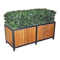 Wholesale Commercial Metal Home Furniture Rectangular Steel Garden Planter Boxes For Public from china suppliers