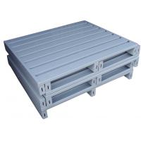 Wholesale Storage 4 way Entry type stacking single side steel pallet from china suppliers