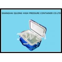 Wholesale 16L HS713C Ice Cooler Box White Top And Blue Box 380×250×346 Mm from china suppliers