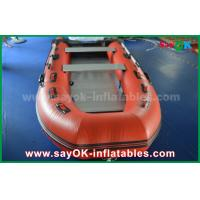 Wholesale Durable Tarpaulin PVC Inflatable Boats with Aluminum Floor and Paddles from china suppliers