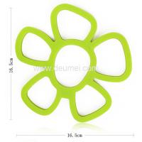 Quality Food Grade Silicone Sunflower Shape Oven Mat for Promotion for sale