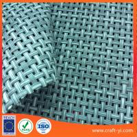 Wholesale Textilene 4x4 line Outdoor Patio Furniture mesh Fabric in gray white mix color from china suppliers