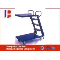 Wholesale Adjustable Safety Steel Foot Welded Truck Step Ladder With Power Coating from china suppliers