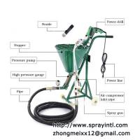 China High Pressure Wall Cement Mortar Spraying Plaster Machine on sale