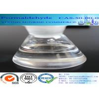 Wholesale CAS 50-00-0 Formaldehyde No Suspended Substance Liquid With Strong Pungent Odor from china suppliers