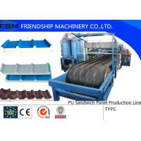 Wholesale JF100 Type PU Sandwich Panel Production Line For 30-200mm from china suppliers