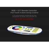 Wholesale Milight 2.4GHz 4 Zone RGB+CCT Remote Controller RGB with CCT adjustable Dimmer from china suppliers