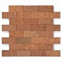 Wholesale Ceramic Tiles/Mosaic, No Joints, Red Stone from china suppliers