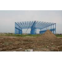 Quality Posco Factory Building Steel Frame Light Gauge 43000 Square Meters for sale