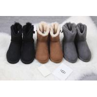 Wholesale 【wechat  cx2801f】ugg female shoes  UGG 1018632 Gray wool ball spot 35-40 from china suppliers