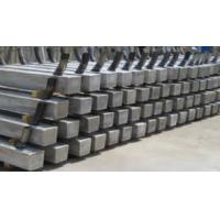 Wholesale Al-Zn-In Alloy Anodes For Pilling / Piers / Offshore Platform from china suppliers