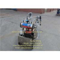 Wholesale Diesel Power Mobile Milking Machine Two Cows Farm Milking Equipment from china suppliers