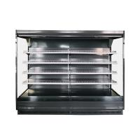 China Supermarket Open Vertical Air Curtain Merchandiser Refrigerator For Vegetable and Fruits on sale