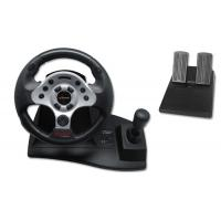 Wholesale High Precision Force Feedback Steering Wheel Double Vibration Racing Wheel from china suppliers