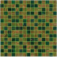 Wholesale Green for your garden gold line 20mm glass mosaic mix patter decoration from china suppliers