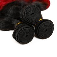 Quality 3 Bundles Weave Ombre Real Hair Extensions Remy Hair Last Long Time For Girl for sale