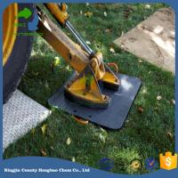 Quality Crane Leg Supporting Outrigger Pad Jack HDPE UHMWPE for sale