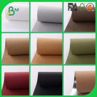 Wholesale different color washable kraft paper roll for making bag  wallet from china suppliers