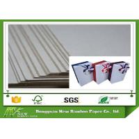 Wholesale Mixed Pulp Material Book binding paper grey cardboard sheet / roll for box from china suppliers