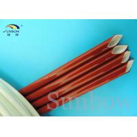 Wholesale Breakdown Voltage 7.0kv silicone rubber fiberglass sleeving FOR Coffe machines from china suppliers