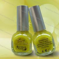 Wholesale Soak Off UV Yellow Heavy Colors Gel Finger Nail Polish / Special Varnish 12ml from china suppliers