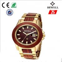 Wholesale 100% Natural Wood And Steel Watches from china suppliers