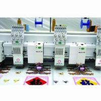 Buy cheap Multi-heads Mixed Chenille Embroidery Machine with 10 Inches LCD Display from wholesalers