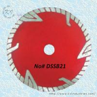 Wholesale Continuous Rim Deep Drop Knife-segmented Turbo Saw Blade for Concrete - DSSB21 from china suppliers