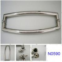 Wholesale SUS304 Polished Chrome shower handle / glass door handle N0590 from china suppliers