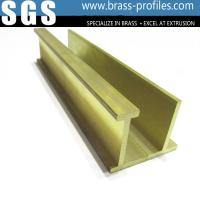 Wholesale C3800 / C3850 Construction Materials Solid Extrusion Brass Window Frame from china suppliers